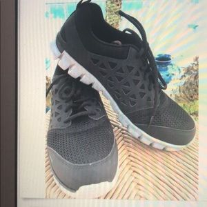 Reebok Shoes sport work alloy Toe men size 8.5